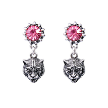 Earrings for Women Animal Design Bijoux Short Vintage Earrings Indian Je... - $5.77