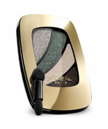L'Oreal Eyeshadow Quad Sophisticated Angel 827, smoky neutral makeup - $9.99