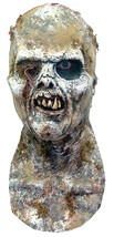 Zombie Mask Lucio Fulci Prop Adult Dirt Worms Gory Scary Halloween TA348 - $57.99