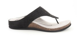 Abeo  Bravo Sandals Black  Suede  Size US 6 Post Footbed () - $74.80