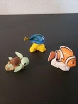 """Disney Pixar Finding Nemo - Squirt, Dory, Nemo PVC Figure 1.5"""" - $8.00"""