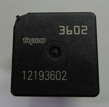 Usa Seller Genuine Gm Oem Tyco Relay 12193602 Free Shipping 1 Year Warranty! GM4 - $6.40