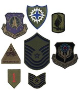 Subdued Official US Military Army Air Force Assorted Patches (100 Patches) - $43.99