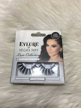 Eylure false eye lashes with adhesive vegas nay luxe collection bsh - $4.49
