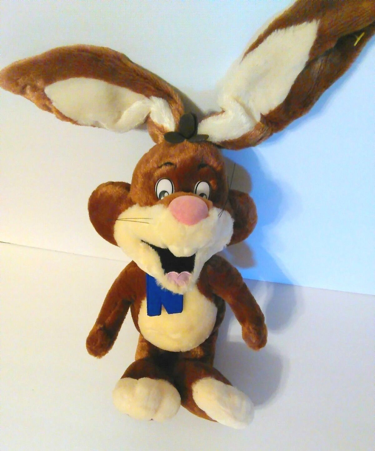 Primary image for Bunny Rabbit Nestle Chocolate Quik Plush Stuffed Animal TV Commericals