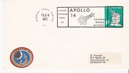 APOLLO 14 KENEDY SPACE CENTER, FL 2/6/1971 MAILERS POSTMARK - $1.78
