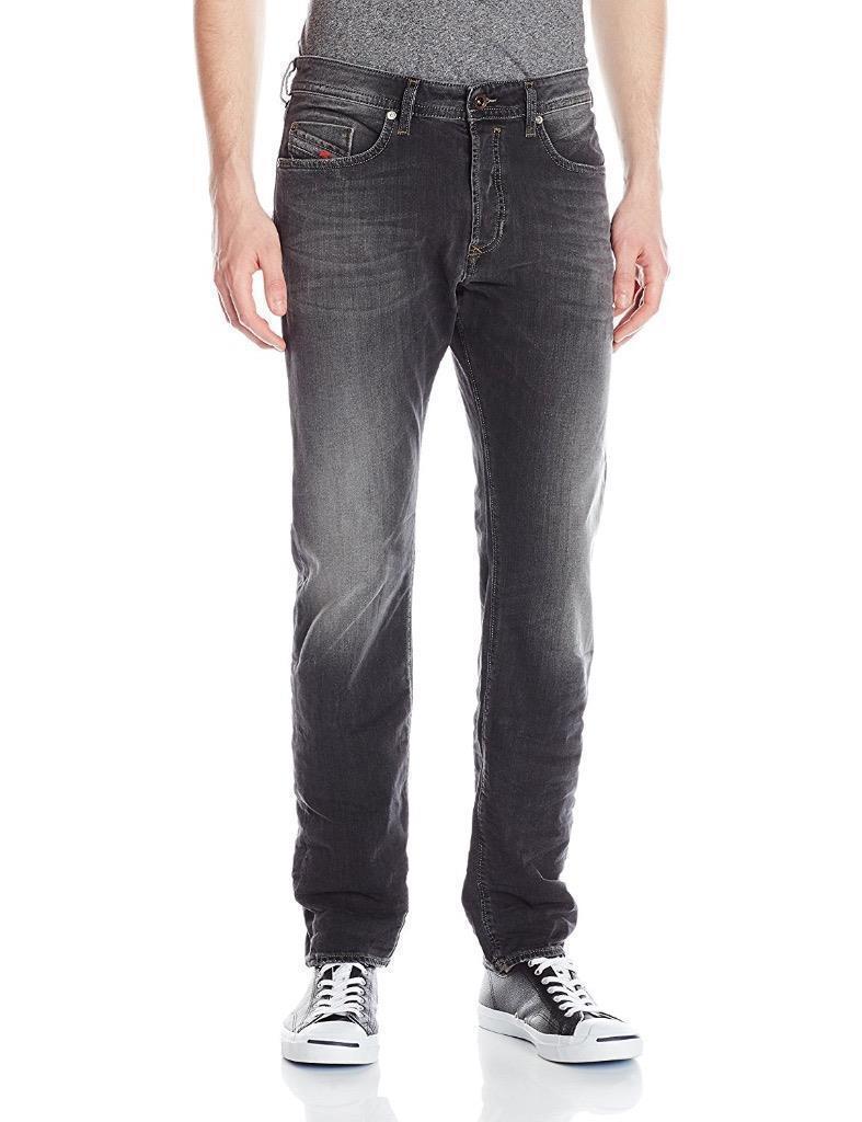 Diesel Men's Designer Regular Slim Tapered Buster Denim Jeans 0669F_Stretch