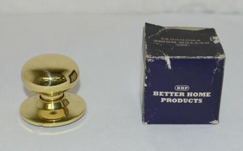 Better Home Products 72303PB Mushroom Knob Dummy Polished Brass
