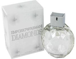 Giorgio Armani Emporio Armani Diamonds 3.4 Oz Eau De Parfum Spray image 4