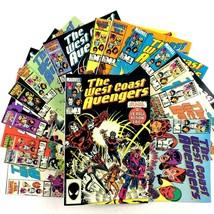 West Coast Avengers Comic Book Lot 15 Issue Run 1-15 Marvel VF NM Iron Man - $29.65