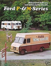 Vintage 1972 Ford P & M Series Brochure Mint Condition - $8.60