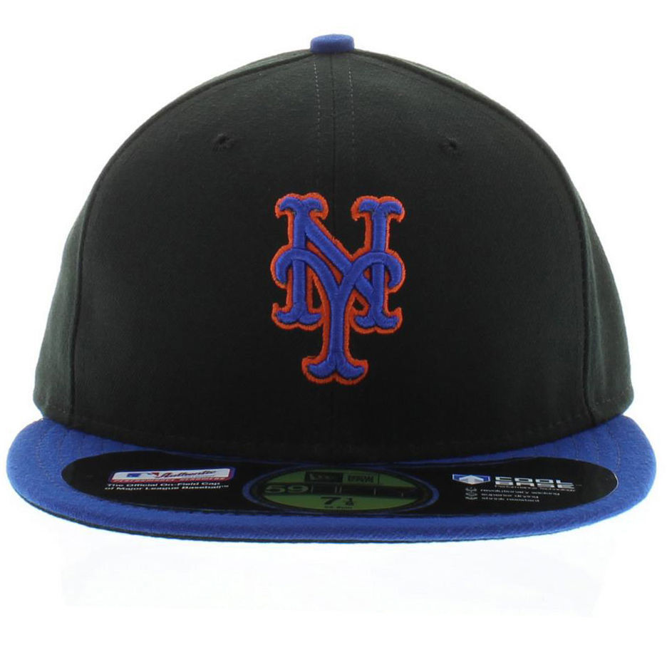 New York Mets New Era Authentic Collection Road On Field 59FIFTY Fitted Hat  - Ro cd9258f95e90