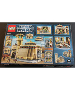 RETIRED COLLECTOR LEGO Star Wars NO 9516 Jabba's Palace NEW IN SEALED BO... - $207.09