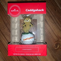 Hallmark Caddyshack Gopher Golf Christmas Tree Holiday Ornament - $18.00