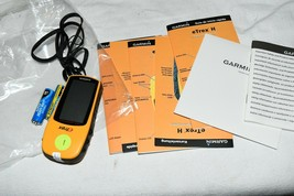 Garmin Etrex H 010-00631-10 Handheld GPS Bundle with software Mint #1 2C - $70.68