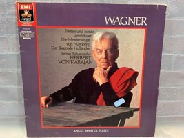 Herbert Von Karajan Wagner Tristan Isolde Tannhauser LP Record Album Vinyle - $10.36