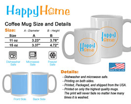 Best Cat Dad Ever - Funny Mug Cat Lovers Gift for Father- Ceramic Coffee... - $18.00+