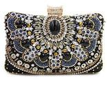 Clutch ladies diamond day clutches purses female beaded bag with chain.jpg 640x640 thumb155 crop