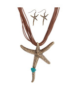 Starfish Necklace & Earring Set - $20.00