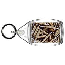 bullets handmade in uk from uk made parts keyring, keyfob