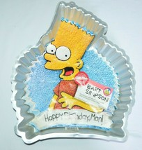 1990 Wilton Bart Simpson Simpsons Birthday Party Cake Pan Mold #2105-900... - $34.64