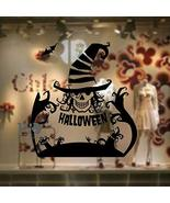 EDS Halloween Pumpkin Head and Witch Flying with Broom Cats Bats Carving... - $46.29