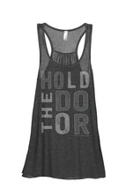 Thread Tank Hold The Door Women's Sleeveless Flowy Racerback Tank Top Ch... - $24.99+