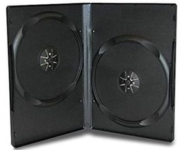 Double CD DVD Blu-ray Jewel storage Replacement Case 0.55 in 10 Pack  - £21.16 GBP
