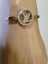 Stunning, Silver Tone, Paved Rhinestones, 7in Bracelet - $66.45