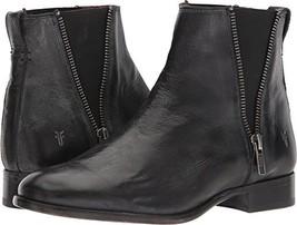 FRYE Women's Carly Zip Chelsea Boot, Black, 9 M US - $168.70