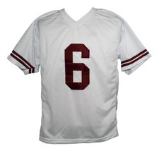 AC Slater #6 Saved By The Bell Men Football Jersey White Any Size image 5