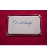 OLIVIA NEWTON JOHN  Authentic SIGNED AUTOGRAPHED 3x5 SIGNATURE CUT w/COA... - $30.00
