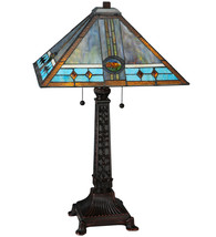 "26""H Mission Rose Table Lamp - $561.00"
