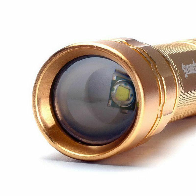 ... Hot Sale Super Bright 300 Lumens 3 Modes XML T6 LED 18650 Flashlight Torch Lamp