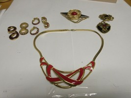 Costume Jewelry ,Vintage , MONET , Neck , Ear , Pin - $95.00