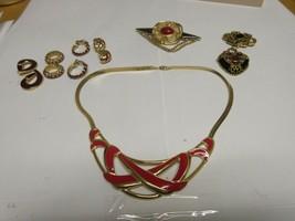Costume Jewelry ,Vintage , MONET , Neck , Ear , Pin - $94.05