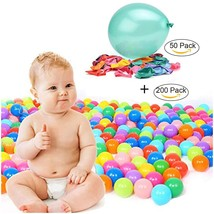 "TrendBox 200 Colorful Ocean Ball Ship From USA + Free Gift 50 Size 10"" B... - €22,21 EUR"