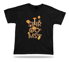 Shrooms Colorful Mushrooms awesome unique unisex cool tshirt tee design ... - $7.57