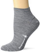 Smartwool Texture Mini Boot Sock Light Gray MD (Women's Shoe 7-9.5) - $15.79