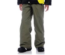 Volcom Five Boys Cargo Pants Snowboard Ski 5k Waterproof Olive XL - $93.59