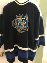 Walt Disney World Pluto Icehounds Homme 2XL Hockey Jersey Authentic Collection - $39.49