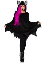 Plush Furry Bat Hooded Poncho Costume by Leg Avenue™/One Size/NWT - $47.45