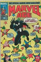 Marvel Age #19 ORIGINAL Vintage 1984 Black Suit Spider-Man Fraggle Rock - $9.89