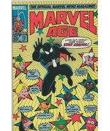 Marvel Age #19 ORIGINAL Vintage 1984 Black Suit Spider-Man Fraggle Rock - $9.49