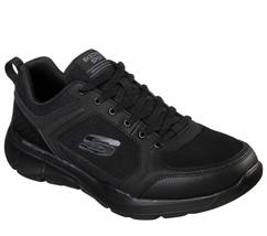 Skechers Extra Wide Black shoes Men Memory Foam Comfort Casual Sport Tra... - $39.99