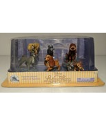 Disney LADY AND THE TRAMP Figurine Playset Set 6 Figures Toys Cake Toppe... - $24.46