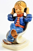 Goebel Today's Children Girl Wearing Headphones Signed Ceramic Figurine ... - $25.73