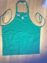 Starbucks Coffee Barista Apron Army Veteran With Name Le - $18.69