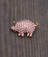 Vintage Trifari Pink Pig Brooch Pin - $135.00