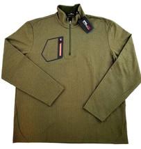 new RALPH LAUREN RLX men jacket top sweater 785664085001 olive green XL ... - $45.99